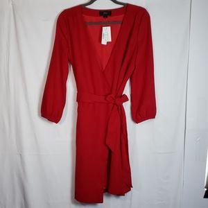 J Crew wrap dress